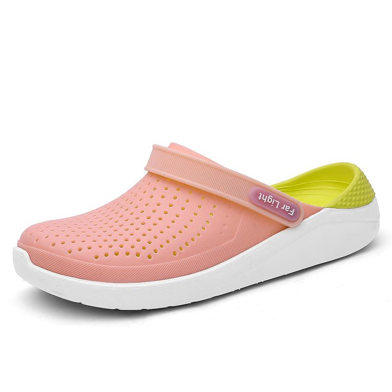 2832a26c6f9a9 1990s Young Fashion Trends Teenager Girls Breathable And Comfortable Summer  Light Couples Slippers So Cute Best Beach Sandals Womens Wedge Sneakers  Sandal ...