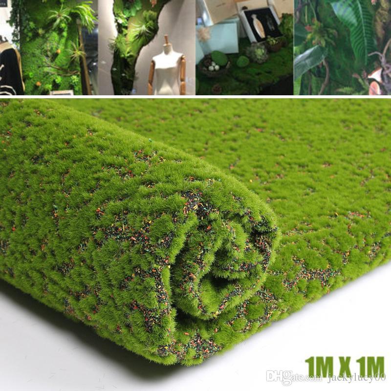 Acheter 10 m tre carr artificielle vert mousse herbe - Tapis chauffant pour plante ...