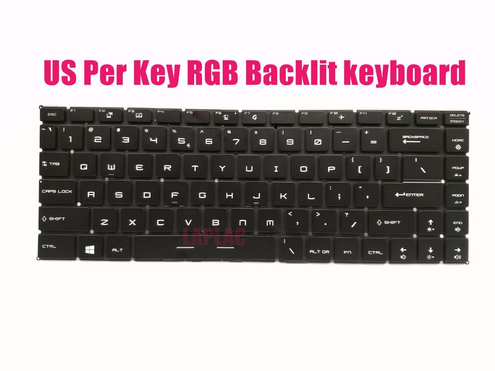 1542ad5c905 2019 New US Key RGB Backlit Keyboard For MSI GS65 8SE/ 8SF/ 8SG/ Stealth  Thin 8RE/ 8RF From Leight, $247.86 | DHgate.Com