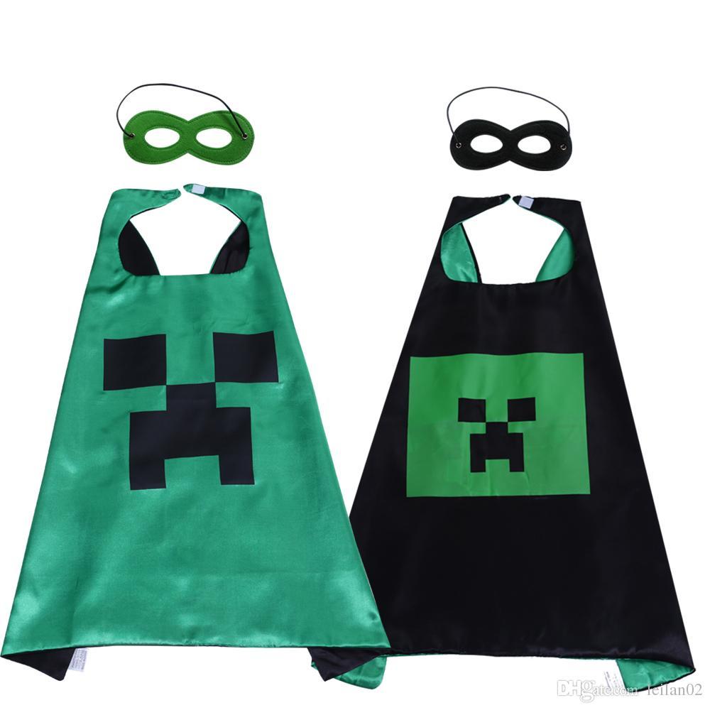 27inch minecraft superhero costumes child cartoon game superhero