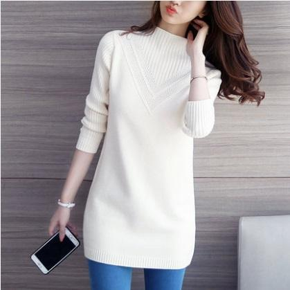 149057722c8d81 New Sale Promotions Winter Women Knitted Oversized Sweaters And Pullovers  Pull Femme Cashmere Female Turtleneck Sweater S-Xl Online with  32.74 Piece  on ...