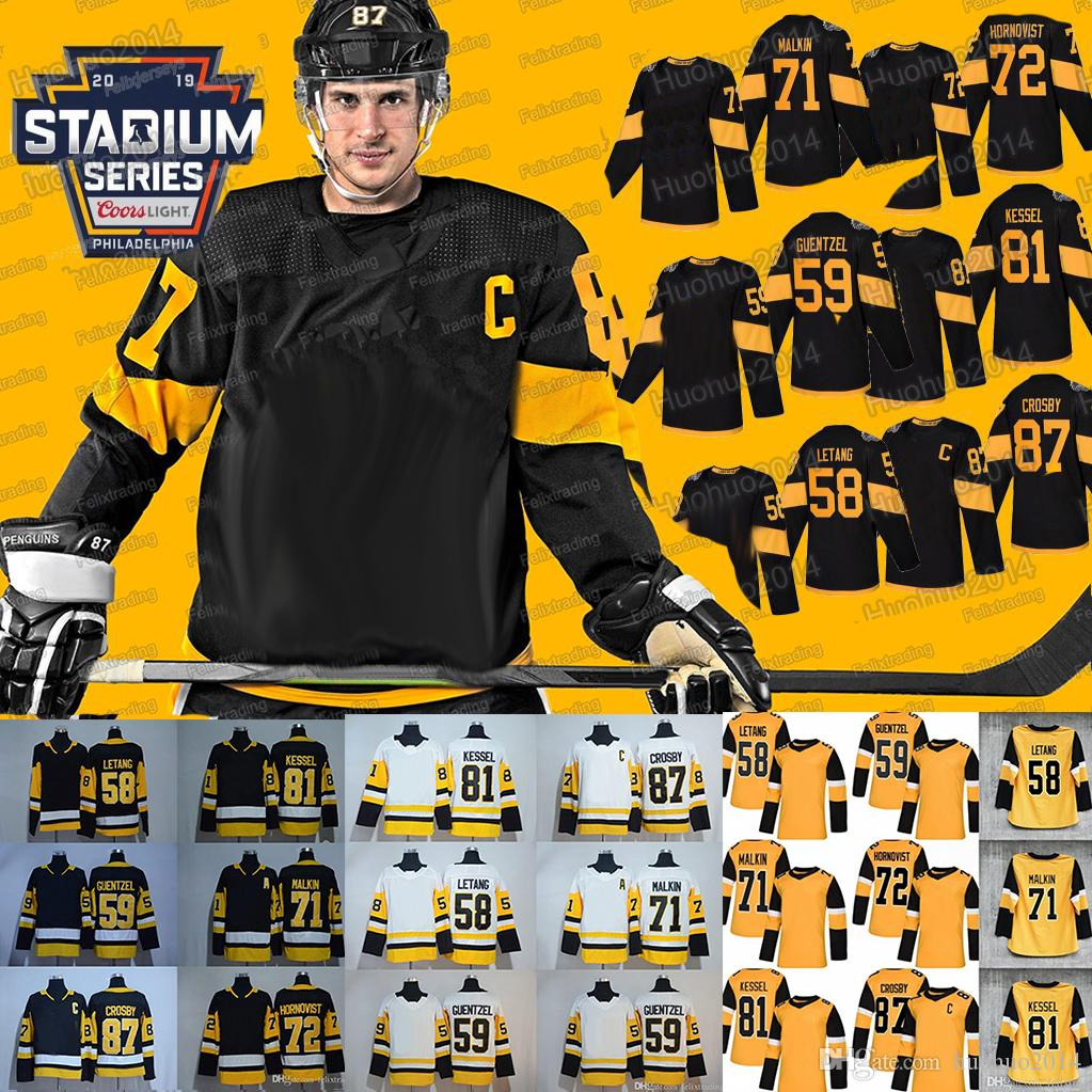 fade95164 2019 71 Evgeni Malkin 2019 Stadium Series 87 Sidney Crosby Patric ...