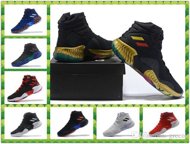promo code 17f01 68564 Acquista Pro Bounce Mid Reale Da Combattimento Scarpe Da Pallacanestro  Unicorn PE Blu Scuro Core Uomo Marca Sneakers Taglia US 7 12 Con Scatola A   99.5 Dal ...
