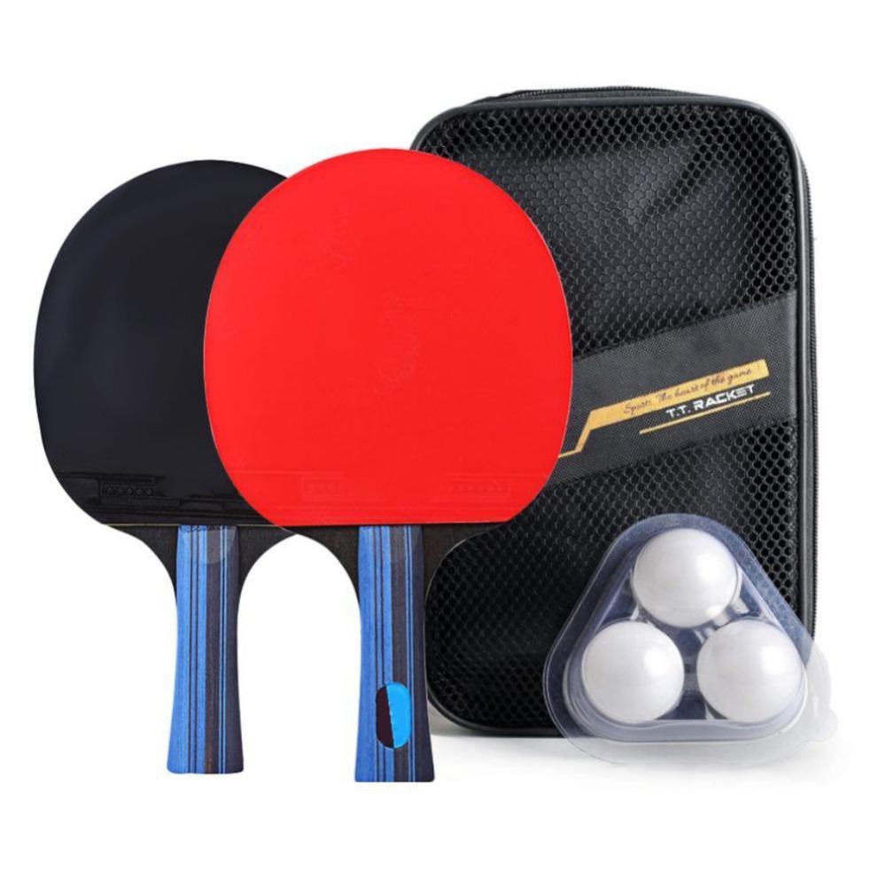 c721c310e Compre Hoja De Raqueta De Tenis De Mesa De Fibra De Carbono Tiro Horizontal    Manija Larga One + Square Pack One + Ball High Quality A  24.81 Del Neyei  ...