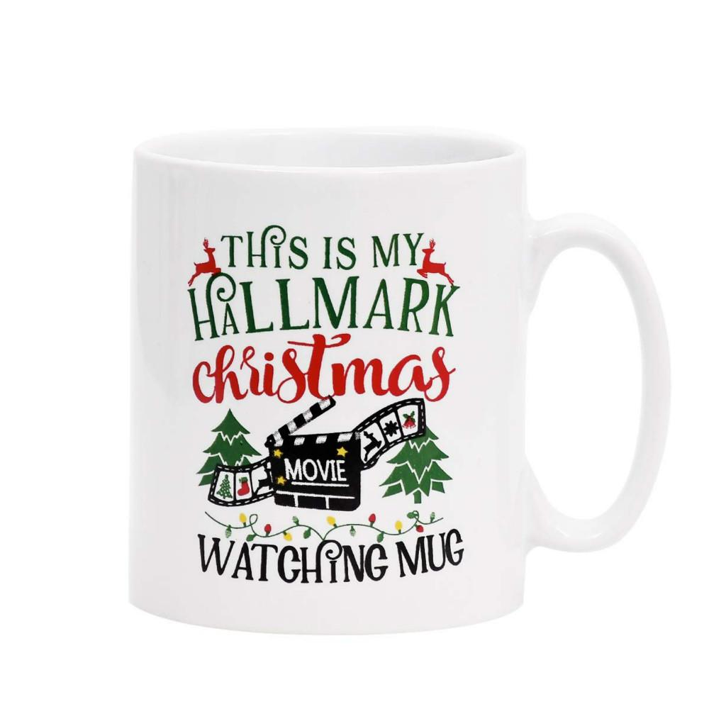 Christmas Mugs.Christmas Mugs Christmas Tree Coffee Mug This Is My Hallmark Christmas Movie Watching Mug Coffee Mugs Brithday Gift