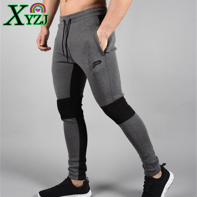 907d95ba987 2019 Bodybuilding Pants New Running Tights Men Joggers Compressed Pants Gym  Men Sports Skinny Legging Sportswear Long Trousers From Xyzj