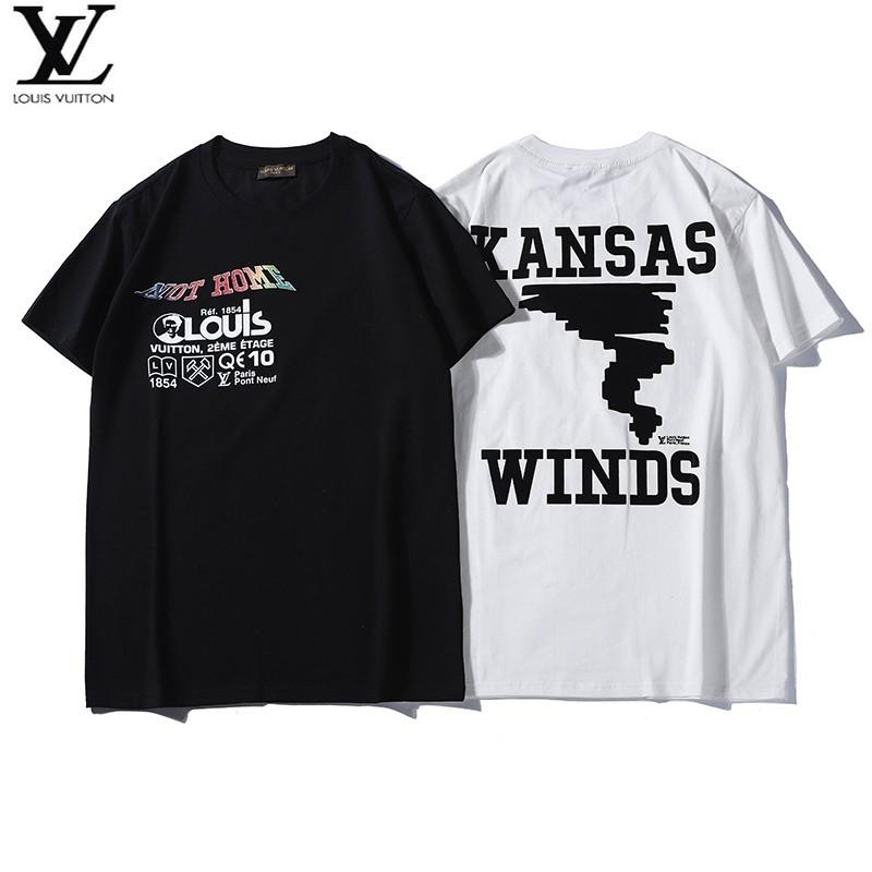 e8b304bcdcf Men S New T Shirt Fashion Comfortable Breathable Light Flocking Print  Shoulder Reverse Line New Short Sleeve Buy T Shirts Online Funny Tee Shirts  From ...