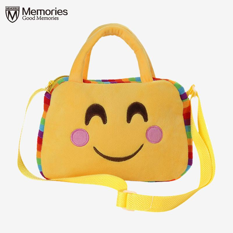 Cheap Women Handbags Messenger Bags Popular Cute Emoji Emoticon Shoulder  School Bag Satchel Teenager Crossbody Handbag Feminina 2018 Wholesale Bags  Over The ... e9eb48a34bbb5