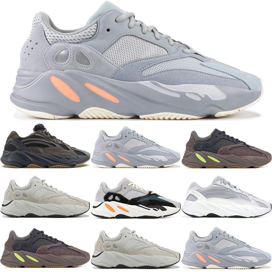 f133d1f3e0e2d 2019 Kanye West 3M 700 V2 Geode Static Salt Inertia Grey Orange Solid Grey  Reflective Mauve Sneakers Designer Men Women Running Shoes 36 46 From  Walking9527 ...