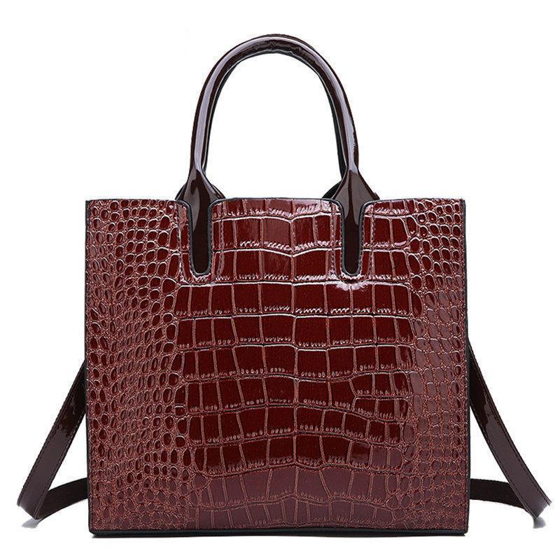 6ac1273140e6 Großhandel 2019 Neue Damenmode Handtaschen Leder Luxus Frauen Taschen  Designer Hohe Qualität Umhängetasche Frauen Große Tote Umhängetasche Von  Keeping08