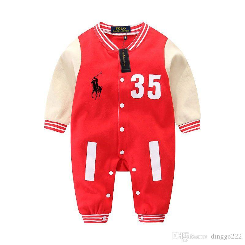 4f7928baa768 2019 Factory Wholesale Boys Girls Autumn Rompers Children Pajamas ...