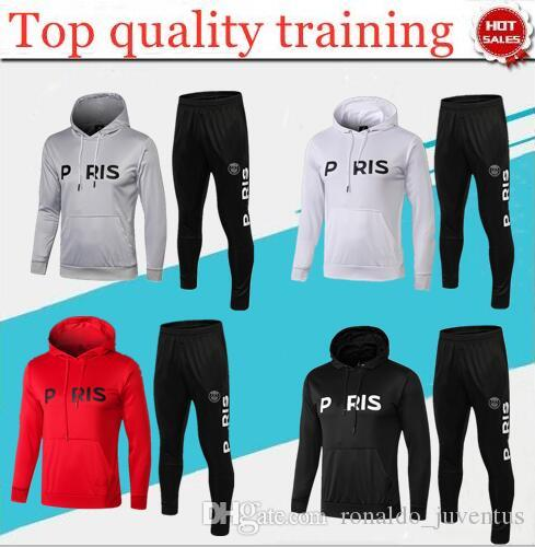 84ee253fb 2019 BEST Quality 2018 19 Paris PSG Soccer Training Suit Champions League  Survetement 18/19 PSG MBAPPE Football Jacket Tracksuit From  Ronaldo_juventus, ...