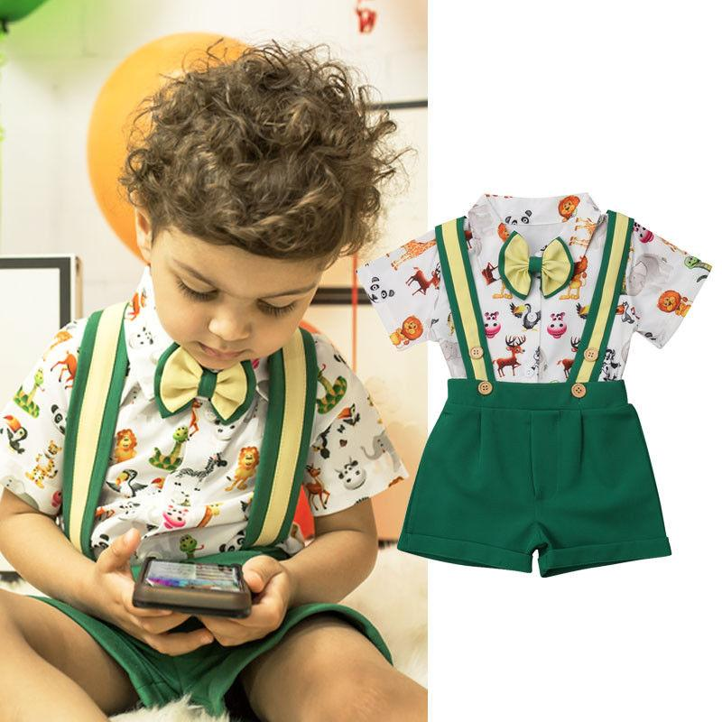 6aa114d1dc12 2019 Pudcoco Brand New Toddler Kids Baby Boys Tops T Shirt Shorts ...
