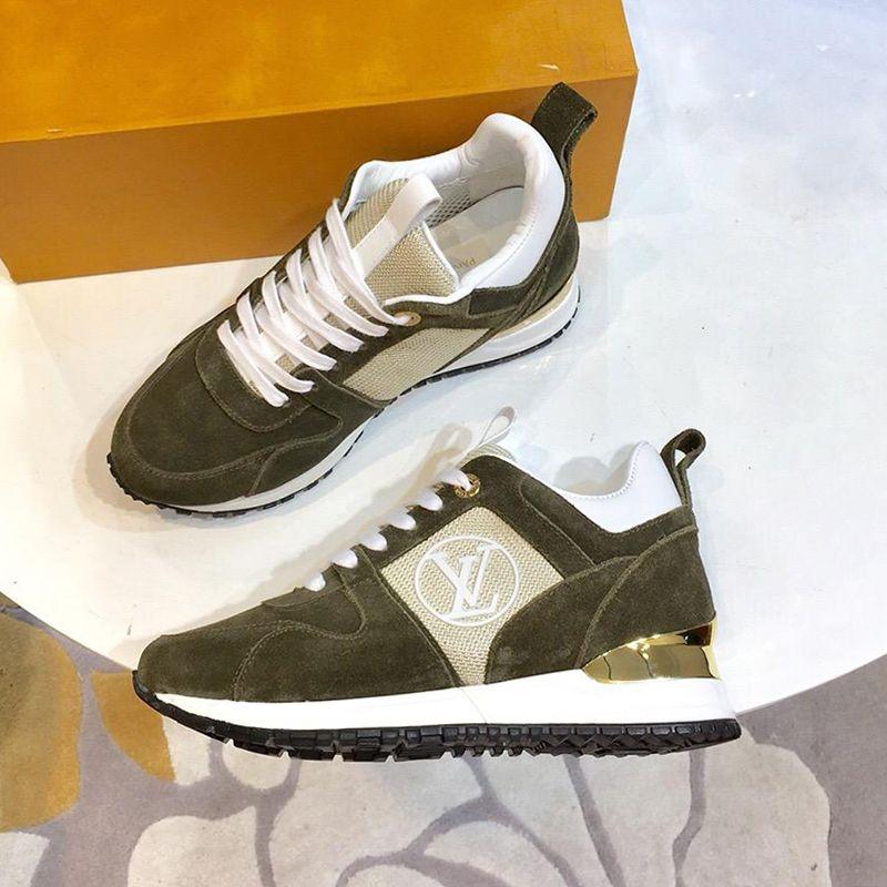 new style c982f a932f Donna Calzature sportive Scarpe da ginnastica Calzature con scatola  originale Chaussures pour Femmes Comoda Run Away Sneaker Vendita calda Lady  Shoes ...