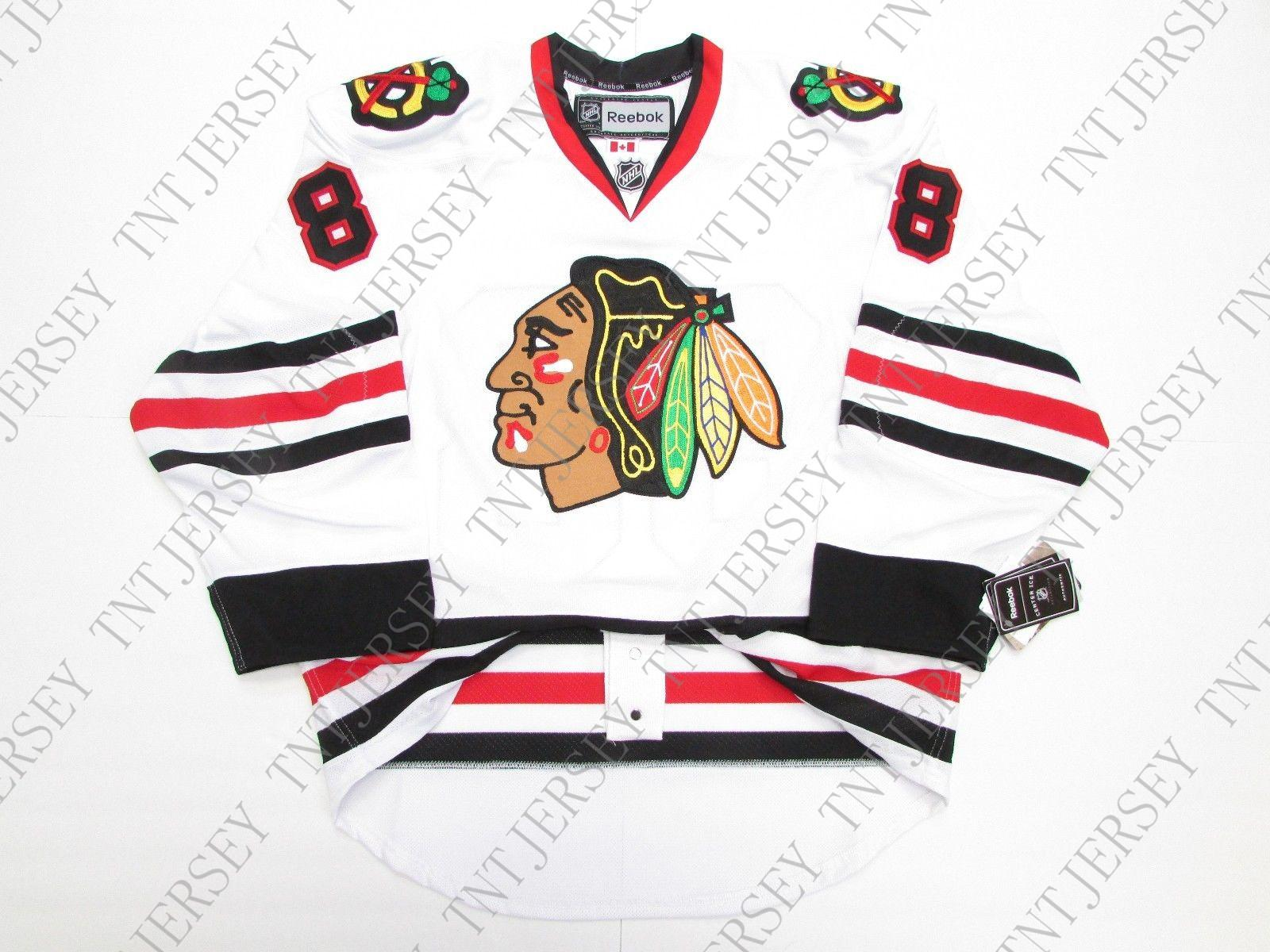 the latest b51f0 3cbd0 Cheap custom PATRICK KANE CHICAGO BLACKHAWKS AWAY JERSEY stitch add any  number any name Mens Hockey Jersey XS-5XL