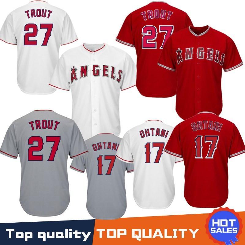 27 Mike Trout Jerseys Los Angeles   Angel Jerseys Baseball Jersey 17 Shohei  Ohtani Coolbase Jersey 100% Stitched UK 2019 From Noblesports 146d51e99