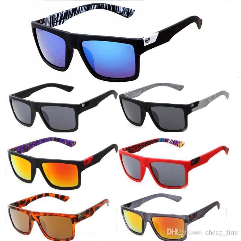 5329400c267ee Designer Fox Head Sunglasses Helm Fashion Men Square Frame Hot UV400 Rays  Male Driving Sun Glasses Shades Eyewear Men Sunglasses Sport Sunglasses ...