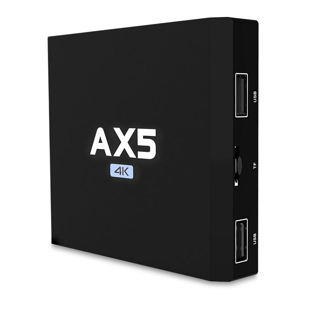 AX5 S905X TV Box 1G RAM 8G ROM DDR3 Android 6 0 Amlogic S905X Quad Core 4K  HD Video Home Media Player pk TX2 TX3