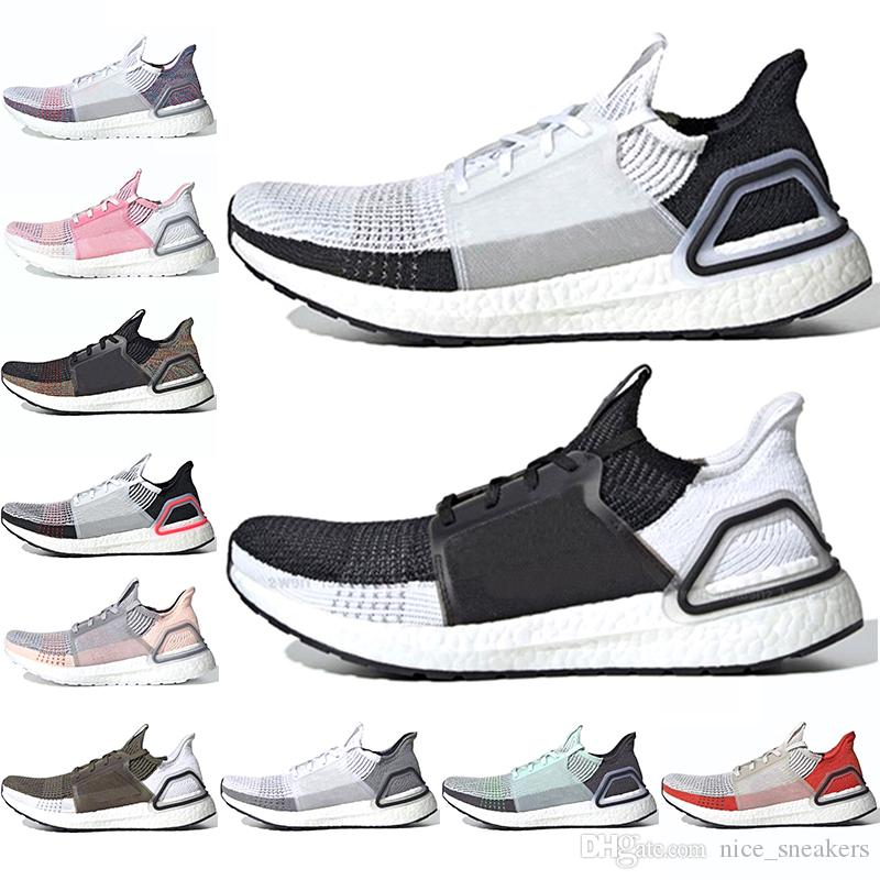 With Box Ultraboost 5.0 Mens Designer Shoes Raw White