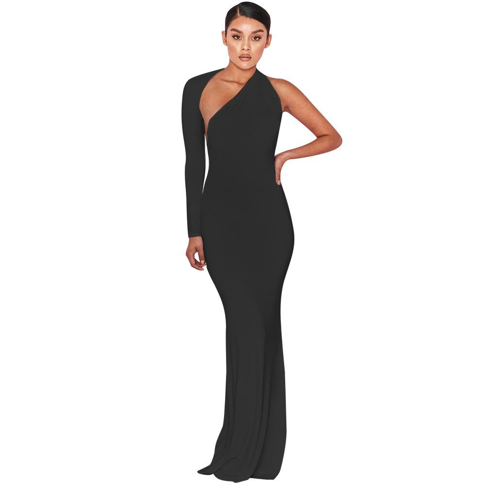 89b474e083b 2019 Kim Kardashian Summer Clothing Formal Sheer Bodycon Long Sleeve Party  Eveninga Sexy Dress Y190410 From Zhengrui04