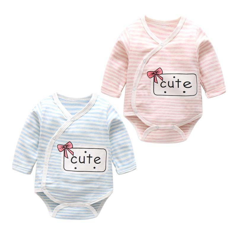 341a8c508 2019 BibiCola Spring Infant Rompers Cotton Fashion Newborn Girls ...