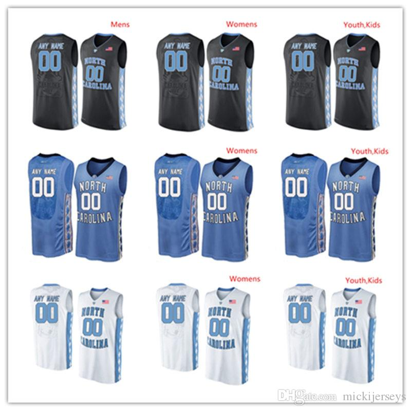 1584fc2fd4b 2019 Custom NCAA NORTH CAROLINA TAR HEELS Basketball Jersey Seventh Woods  Coby White Cameron Johnson Walker Miller Rechon Black Jersey From  Mickijerseys