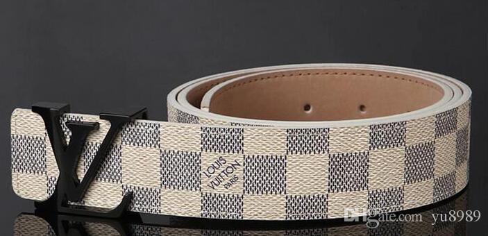 ce08c9ae2243 2019 Mens Belts Fashion Designer Belt Accessories Men Metal Letters Simple  Classic Leather Belt 3.8cm Top Quality Ceinture De Luxe Plus Size Garter  Belt ...