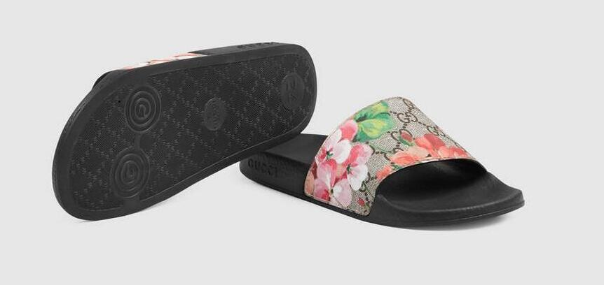 5beaba879 2019 GUCCI New European Fashion Men S And Women S Striped Sandals ...