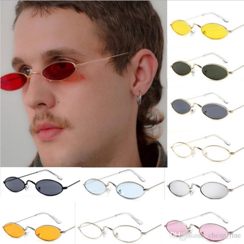722940a036e0 Vintage Sunglasses Women Sexy Cat Eye Luxury Designer Sun Glasses Retro  Small Frame Ladies Mental Sunglass Ocean Lens Eyewear Eyewear Designer  Sunglasses ...