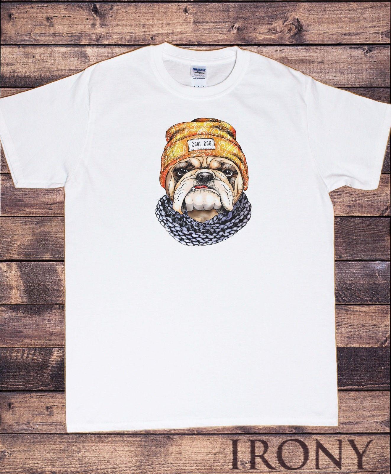 Cool Dog Pug Hat   Scarf Cute Pug Print Top T Shirt Irish T Shirts Art T  Shirts From Shortcup 863eb0f0408