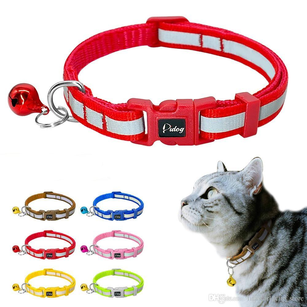 f9cef0e83 Pet Products Printed Cat Collar Pet Lovely Small Printed Bell Pet Collar  Adjustable Nylon Fabric Dog Printing Puppy Teddy Cat Kitten Home & Garden
