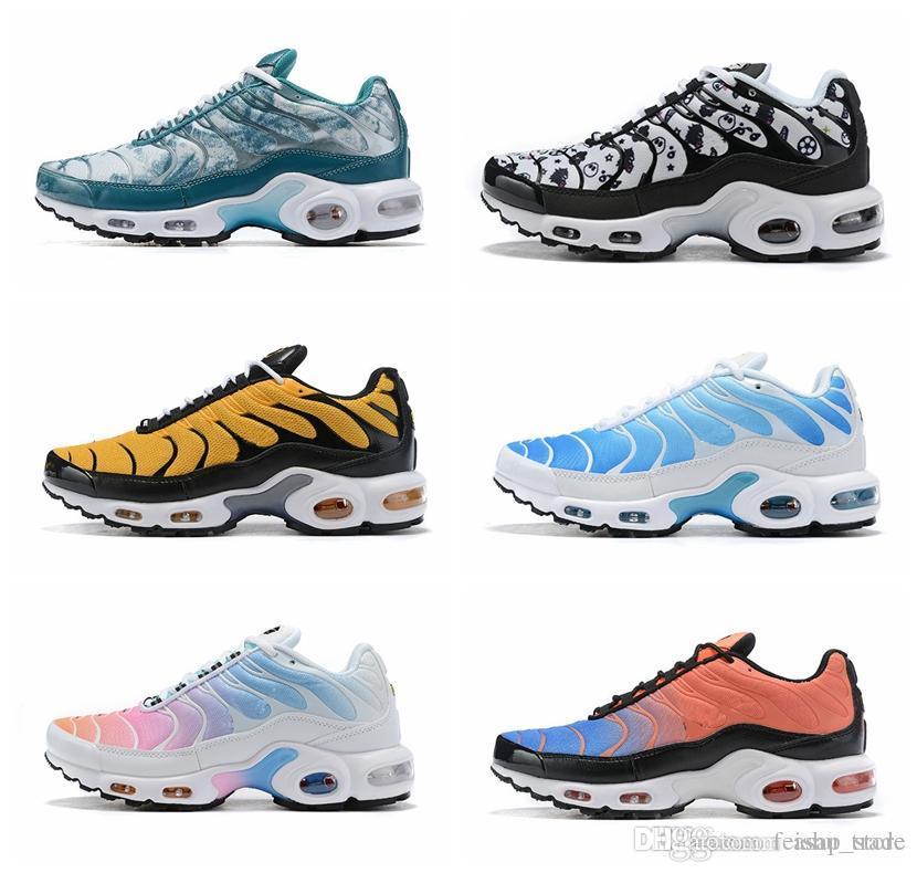 Nouveau Couleurs Designer TN Plus OG Ultra SE Pack Hommes Femmes Chaussures De Course Wmns Sport Run Trainers Baskets Mode Sport
