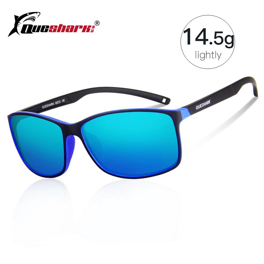 Compre QUESHARK Ultraleve Polarizada Ciclismo Óculos De Sol ... a79732918c