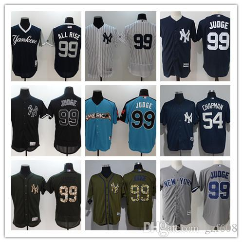 buy popular 58524 f30bf custom Men s women youth New York Yankees Jersey #68 Dellin Betances 54  Aroldis Chapman 99 Aaron Judge Baseball Jerseys