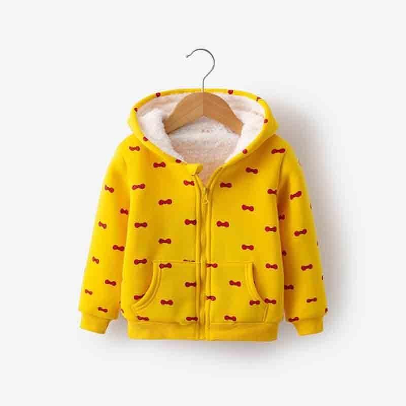 f1741fb88fa4 Good Quality New 2019 Autumn Warm Girl Warm Jacket Children Cute ...