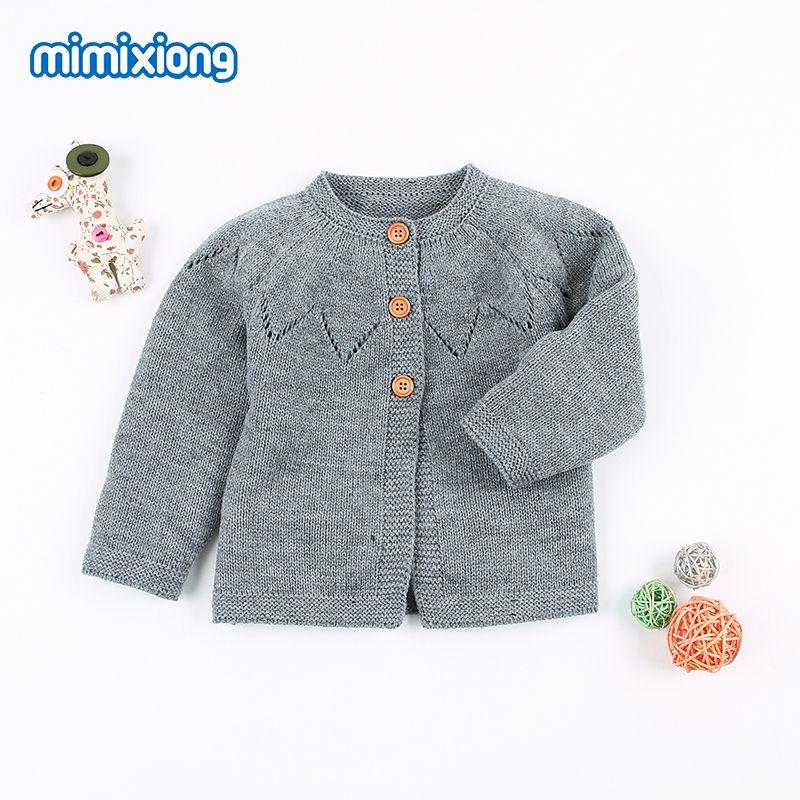 e5a3e04d6 2019 Baby Girl Winter Sweater Cardigans Autumn Casual Newborn ...