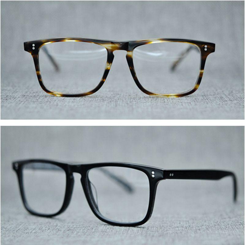 d1d3df972f Compre Gafas Vazrobe Marco Hombres Marca Gafas De Acetato Transparente Prescripción  Gafas Negro Tortoise Gafas Para Lentes Ópticas A $55.95 Del Taihangshan ...