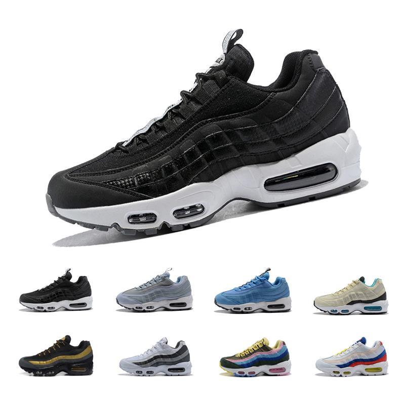 974488f713015 Compre 2018 Zapatos Corrientes De Los Hombres De Las Mujeres Del  Amortiguador 95 Botas De Las Zapatillas De Deporte Auténticas Que Caminan  Al Aire Libre 95 ...