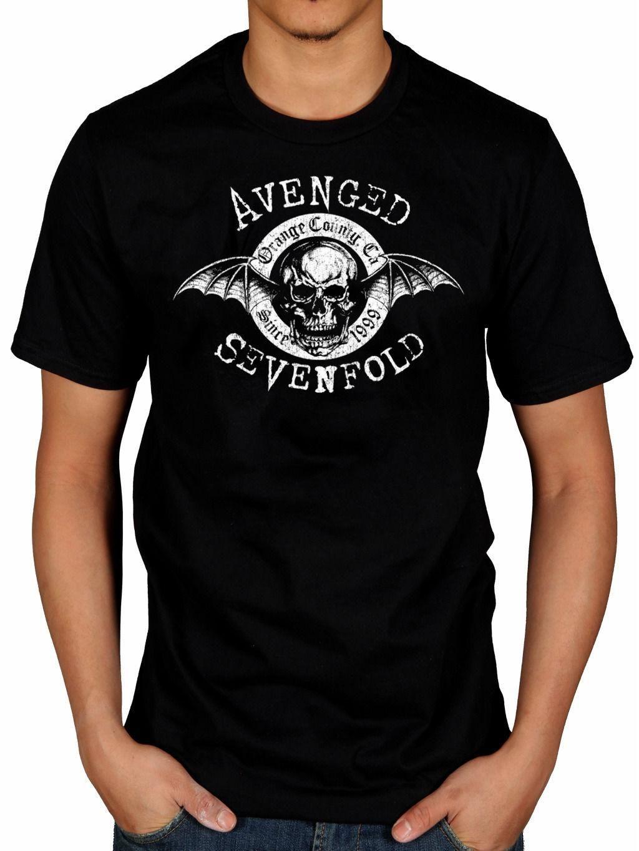 ae347dddfa9 Compre Camiseta Oficial De Avenged Sevenfold Origins A7X Band Trumpet  Pesadilla Recurrente A $25.33 Del Yubin06 | DHgate.Com