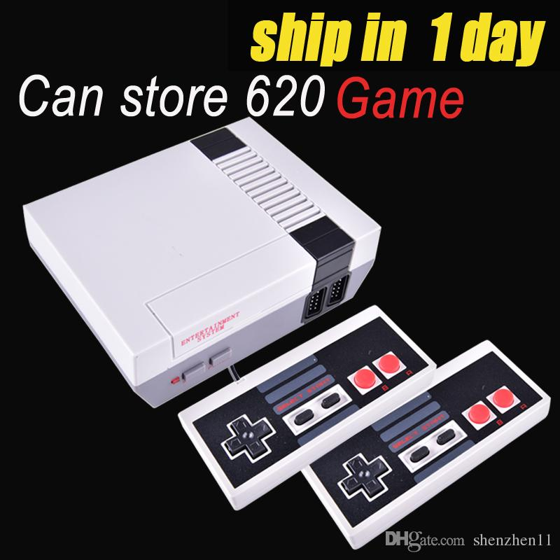 Mini TV can store 620 Game Console Video Handheld for NES with retail boxs OTH733