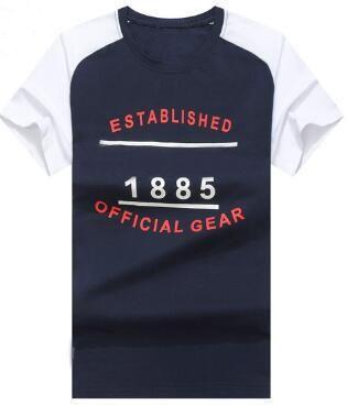 e3240f9f Trade Established 1885 Official Gear Print Men Casual T-Shirts ...