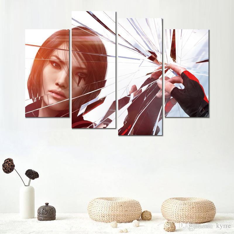 still life mirrors edge catalyst canvas print arts pictures for dining room decor