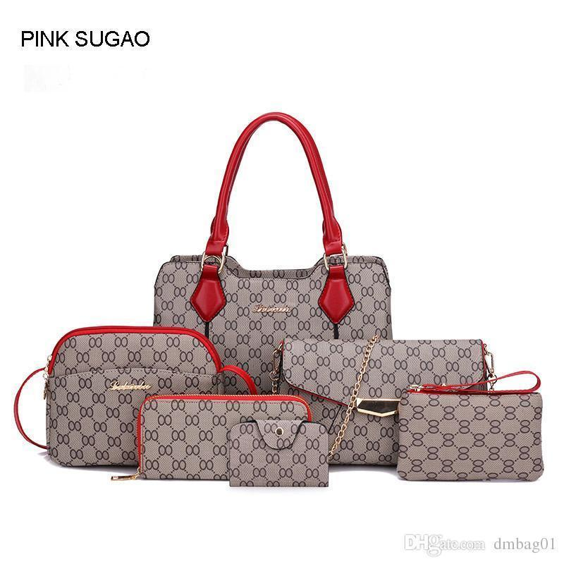 Pink Sugao Designer Handbags For Women Nice Pop Style Pu Leather Sac À Main  Tote Bag Crossbody Shoulder Bag Purse Travel Bags For Women Satchel Handbags  ... 5126129d3bc67