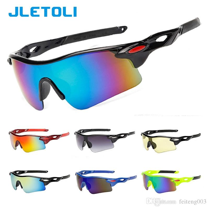 e9540c82fc JLETOLI UV400 Hombres Gafas de sol deportivas Ciclismo de carretera Gafas  de bicicleta de montaña Gafas de bicicleta Ciclismo Oculos # 123507