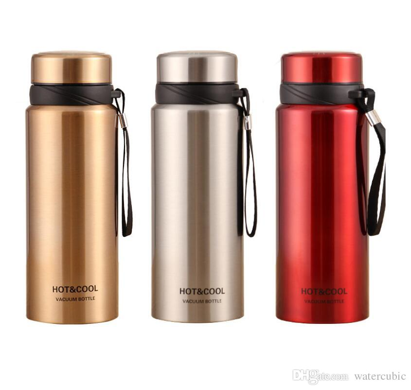 25Oz Stainless Steel Vacuum Insulated Wide Mouth Water Bottle Thermos Keeps Cold for 24 hours Hot for 12 hours Double Walled Powder Coated