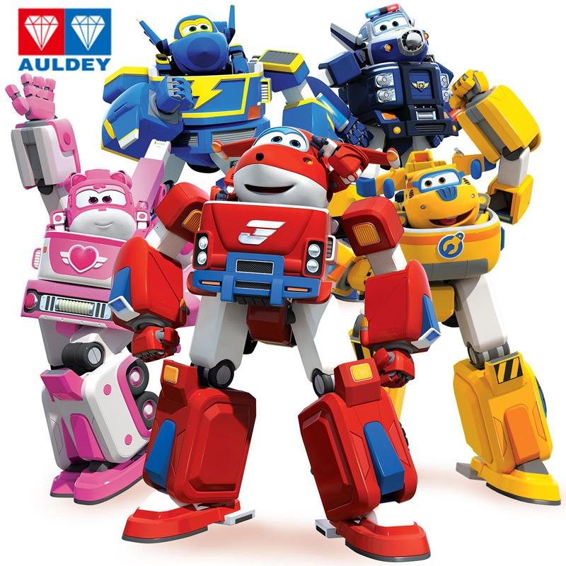 Newest Big Deformation Armor Super wings Rescue Robot Action Figures Super Wing Transformation Fire Engines Toys SH190908