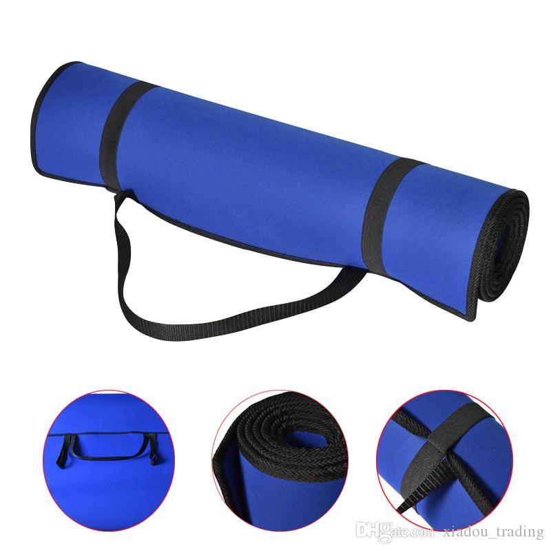 Acquista Stuoia Di Yoga EVA Blu 6 Millimetri Di Spessore Comfort Antiscivolo  Stuoia Di Fitness Pilates Portatile Palestra Durevole Sport Sano Esercizio  Pad ... 36c47d15c374
