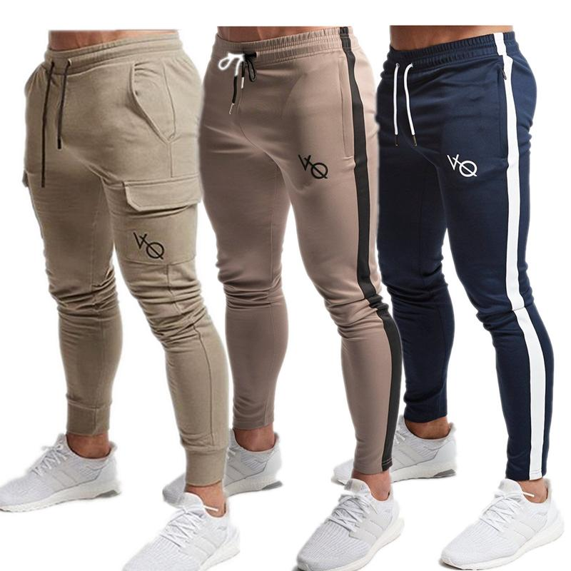 dernière mode styles divers États Unis Hommes VQ Joggers 2019 Nouveaux Pantalons Décontractés Hommes Marque  Vêtements Haute Qualité Printemps Long Pantalon Rouge Élastique Pantalon  Homme ...