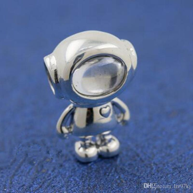 18e12f04ab617 New2018 Winter 925 Sterling Silver Cosmo Tommy Charm Bead Fits European  Pandora Jewelry Bracelets Necklaces & Pendants