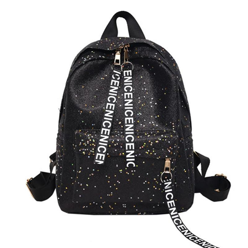 90648fdf4500 Fashion Women Backpack Quality Leather School Bags for Teenager ...